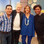 José Figueiras, Jonas Bloch, Ana Marques e  Renato Rodyner