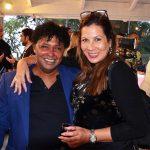Renato Rodyner e a atriz, realizadora e produtora Carla Daniel