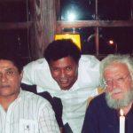 Eusébio, Renato Rodyner e Júlio Pomar