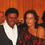 Renato Rodyner e a princesa Stéphanie do Mónaco
