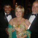 Renato Rodyner, Christina Oiticica e Paulo Coelho